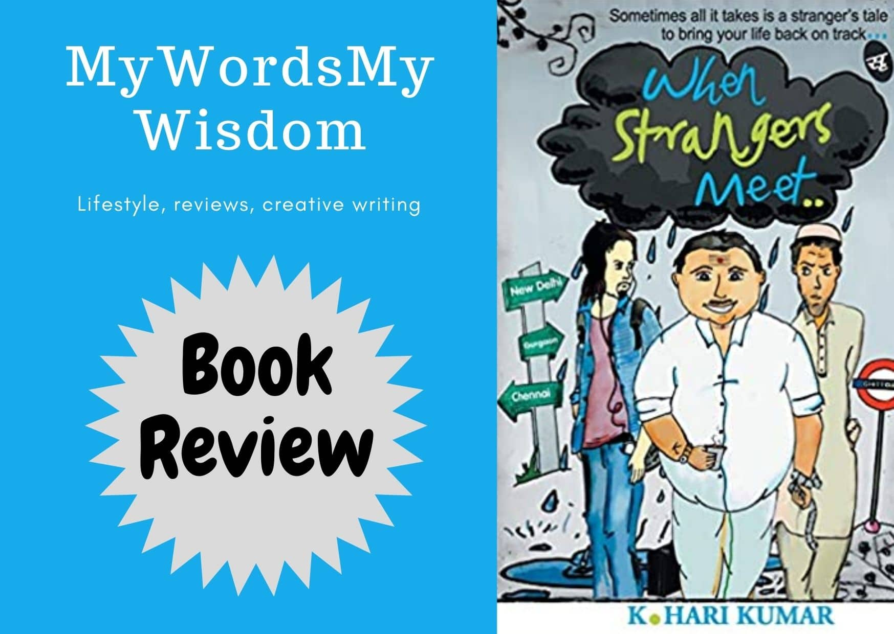 When strangers Meet- We can learn from other mistake an #bookreview
